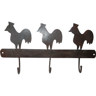 Small Kitchen Rooster Rack