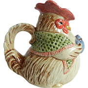 Adorable Fitz And Floyd Rooster Creamer 1987