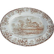 Gorgeous Spode Copeland Antique Transferware Platter