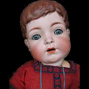 Franz Schmith & Co 1257 bold head doll 22 inches or 55 cm toddler body.