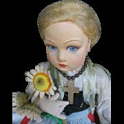 Lenci Italiën doll all original 14 inches or 35 cm.