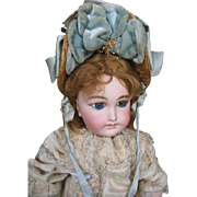 Delcroix French doll  22 inches or 56 cm.