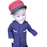 S.F.B.J. 227 character doll  with original custume 20 inches or 50 cm.
