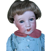 """S.F.B.J. 251 ïmbeciel"""" character doll 15 inches or 38 cm ."""
