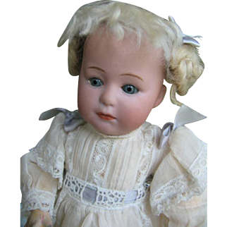 Heubach 8420 character doll 12 inches or 30 cm .