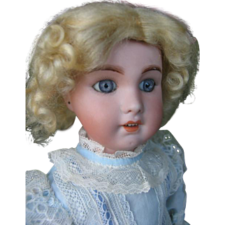 S.F.B.J 230 french doll 17 inches or 43 cm bisque doll.