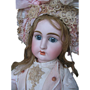Jullien no 10 French antique doll  27 inches or 68 cm.
