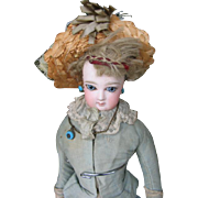 Jumeau fashion doll  14 1/2 or 36 cm .