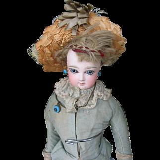 Jumeau fashion doll  14 1/2 or 36 cm .