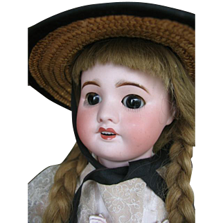S.F.B.J. 60 Paris 21 inches or 52 cm Walking doll.