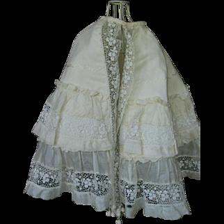 Antique cape for a
