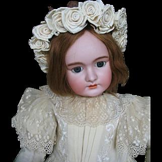 Dep Jumeau no 15  35 inches or 87 cm .impressive large doll.