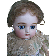 French antique doll signed 3 16 inches or 40 cm  Bru face