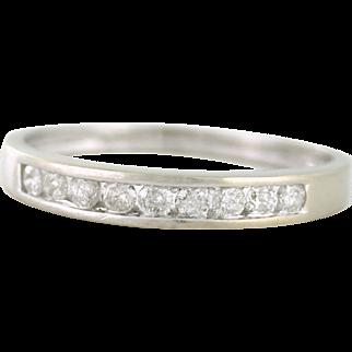 Faithful Diamond Band .36tcw 14k white gold