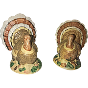 Vintage 1950's Ceramic Turkey Salt and Pepper Shakers (OTH10178)