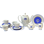 Romania-Afternoon-Tea-3pc-4-Place-Setting Hand Painted, Handmade, MOGA