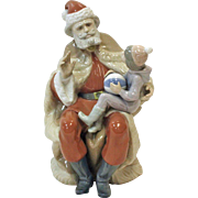 A Christmas Wish - Lladro - Retired 1998, made in Spain, porcelain figurin