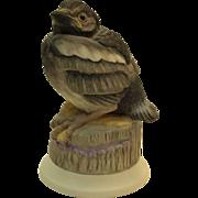 Boehm Fledgling Magpie 476 vintage porcelain bird figurine