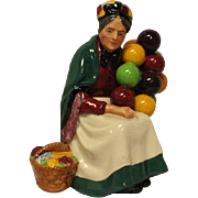 The Old Balloon Seller HN1315 Royal Doulton Large Bone Figurine - mint condition - Toby Jug Collectibles