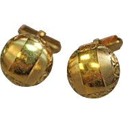 Vintage SWANK Cufflinks, 1/20 12k Gold Filled, Art Deco