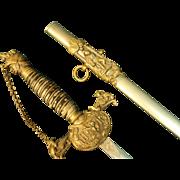 Knights of Pythias FCB UR Ceremonial Sword by Pettibone Bros Mfg