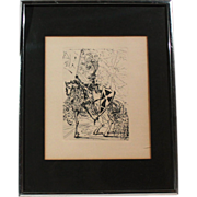 "50% OFF SALE: Salvadore Dali Original Etching ""El Cid"" 1968 w/ Certificate of Authenticity (ART10010)"