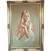 50% OFF SALE: Leo Jansen female nude #53886 by iconic Playboy painter (ART10035)