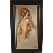 Leo Jansen female nude #53478 by iconic Playboy painter