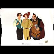 """Anastasia"" Animation Cel 20th Century Fox Ltd Edition"