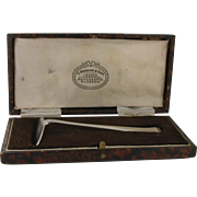 Birmingham Sterling 1934 Food Pusher in Original Fitted Box G Kenning & Son