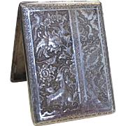 Egyptian 900 Silver Cigarette Case