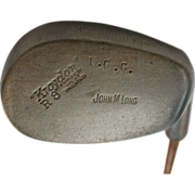 "Golf club with hickory shaft. Kroydon R8 UGG, Stamped ""John M Long."""