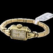 Elgin Deluxe 17 Jewels Ladies Watch 10k gold filled