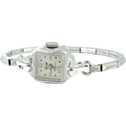 Accessorize with Benrus 17 Jewels ladies watch 14k white gold, stretch band - WAT10039 Accessorize with Benrus 17 Jewels ladies watch 14k white gold, stretch band - WAT10039 Accessorize with Benrus 17 Jewels ladies watch 14k white gold, stretch band