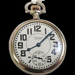 Waltham Railroad Riverside 21 Jewel 1937 WAT10093