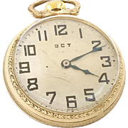 Christmas Super Sale Vintage Pocket Watch 1942 Hamilton 4992B 10kt Gold Filled, 22 jewels, 16s Accurate & Running  WAT10135