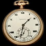 Vintage Hamilton Pocket Watch, 17 Jewels, 12s, Circa 1914 (WAT10154)