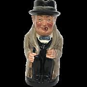 Royal Doulton Winston Churchill toby mug 5.25 inches