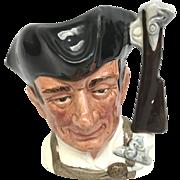 Royal Doulton The gunsmith. collectible porcelain toby mug