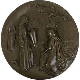 "Historic ""Rebekah at The Well"" Rhodes Studios Collector Plate (OTH10239)"
