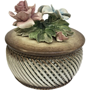 Original Visconti Mollica Capodimonte Floral Bowl (OTH10294)