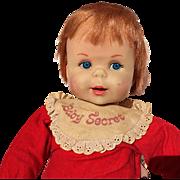 Vintage Talking Mattel Baby Secret Doll
