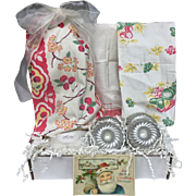 Vintage Inspired Gift Set - Vintage Tea Towels, Bundt Cake & More!