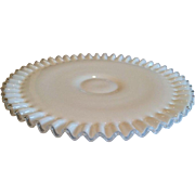 Fenton Silver Crest Low Footed Cake Plate Stand