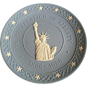 Wedgwood Statue of Liberty 100th Anniversary Plate