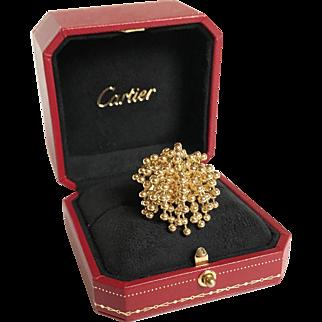 Vintage Cartier Paris Nouvelle Vague Perruque Ring