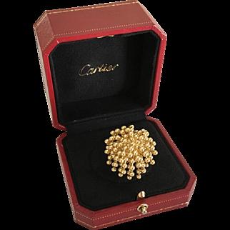 Cartier 18k Gold Paris Nouvelle Vague Cocktail Ring
