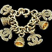 Vintage Chanel Bell Charm Bracelet