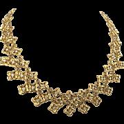 David Yurman 18K Gold and Diamond Quatrefoil Necklace