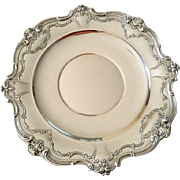 "Gorham 10.5"" Chantilly Duchess Sterling Silver Plate"